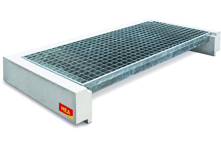 桂林楚先生訂購的400塊平臺鋼格板和500塊鋼格板發貨通知