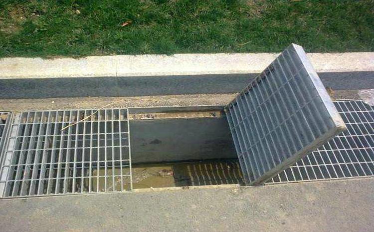 排水沟盖钢格板