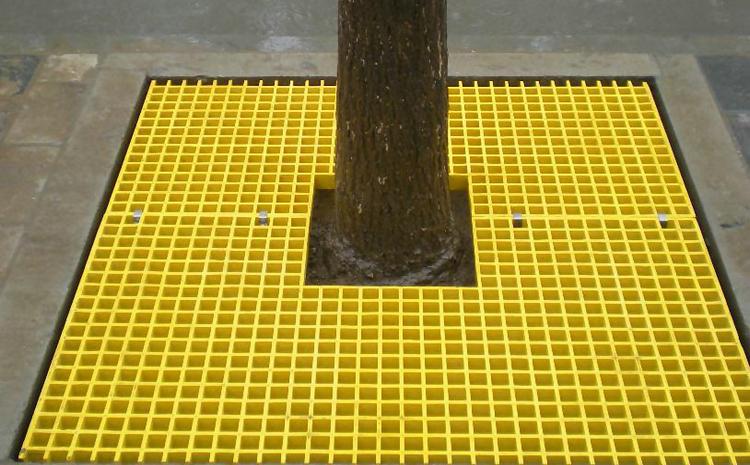 桥墩玻璃钢格栅板