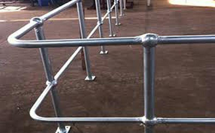 济宁球形立柱栏杆