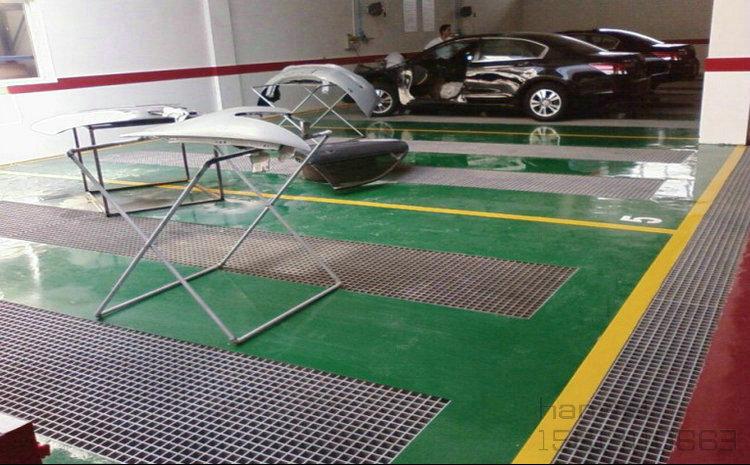 洗车场玻璃钢格栅板